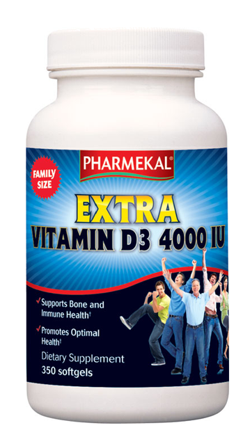 D3-vitamin 4000IU 100db (Pharmekal)